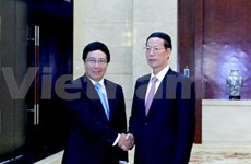 Deputy PM Minh meets Chinese counterpart in Guangxi