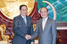 NA Chairman meets with Lao President