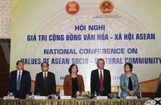 "National conference on ""The value of the ASEAN Socio-cultural community"""