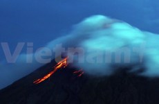 Intense volcanic activity in the Philippines
