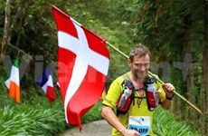 Danish runner races to victory in Sapa mountain marathon