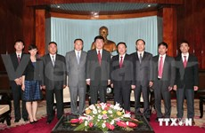 Chinese Communist Party delegation visits Vietnam