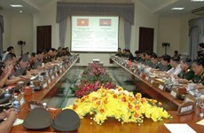 Vietnam, Cambodia beef up military ties