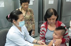 Free measles vaccination: no negative side effects reported