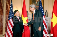 Deputy PM Pham Binh Minh pays official visit to US