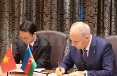 Vietnam, Azerbaijan news agencies sign cooperation agreement