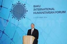VNA chief attends int'l humanitarian forum in Baku