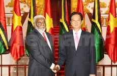 Vanuatu PM hopes for closer rapport with Vietnam