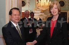 Deputy PM receives Lord Mayor of the City of London