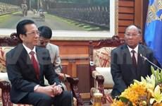 Vietnam is always a good neighbour of Cambodia: Heng Samrin