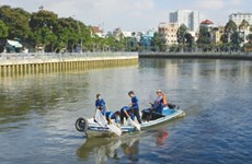 Ho Chi Minh City continues canal project