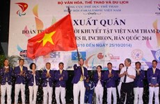 Vietnamese athletes head to Asian Para Games II
