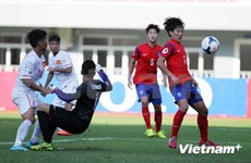 Rough start for Vietnam's U19 Team at Asian football championships