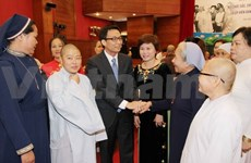 Outstanding female dignitaries honoured