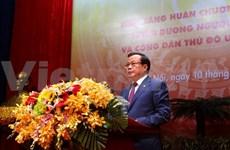 Ceremony marks Hanoi's 60th Liberation Day