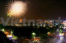 Hanoi glitters on Liberation Day
