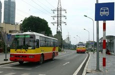 Rapid bus system set for test run