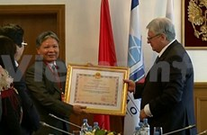 Russian int'l relations institute awarded friendship order
