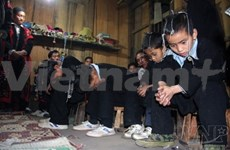Photos capture ethnic custom