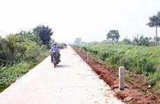 Modern rural area building efforts under review