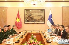 Vietnam, Finland share experience in peacekeeping operations