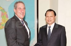 Vietnam, US hope for early signing of TPP