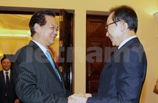 PM welcomes former RoK President