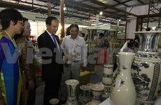 Large trade fair on handicrafts and gifts kicks off in Hanoi