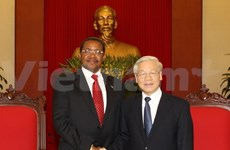 General Secretary welcomes Tanzanian President