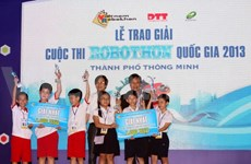 Second robot contest for primary students to kick off