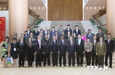 NA leader receives ASOCIO ICT Summit 2014 delegates