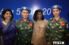 Vietnam active in global peace keeping