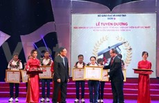Olympiad winners, excellent students honoured