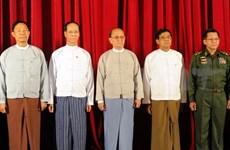Myanmar President reaffirms commitment to peace, development