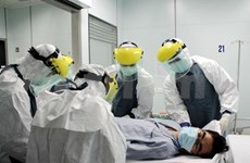 Hanoi rehearses procedures for treating suspected Ebola patients