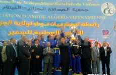 Second Vovinam tournament held in Algeria