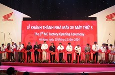 Honda Vietnam inaugurates third motorcycle plant in Ha Nam