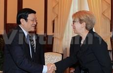 State President bids farewell to Greek ambassador