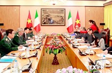 Vietnam, Italy hold defence policy dialogue