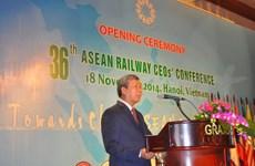 Hanoi hosts 36th ASEAN Railway CEOs' Conference