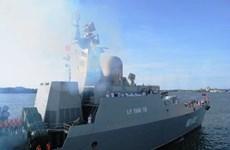 Vietnamese naval officials welcomed in Brunei
