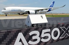 Airbus A350 XMB performs demo flight in Vietnam's airspace