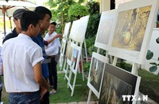 Hanoi displays photos on Vietnamese heritages