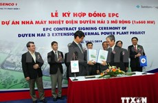 Over 1.8 billion USD to expand Duyen Hai power plant