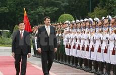Vietnamese, Hungarian Presidents hold talks