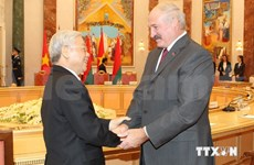 Vietnam, Belarus issue joint statement on fostering ties fully