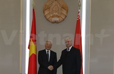 Party chief meets Belarus' National Assembly Council chairman