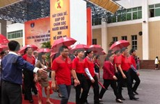 Meeting says no discrimination against HIV/AIDS victims