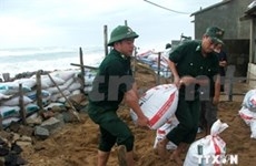 Localities clean up after tropical storm Sinlaku