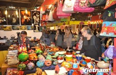 Enterprises join international handicraft fair in Italy
